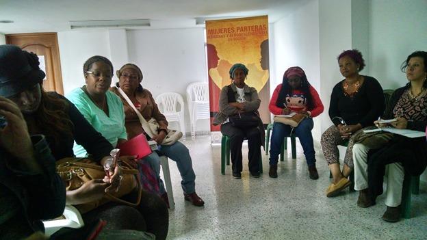 La Red de Parteras Étnicas de Bogotá nació en 2009